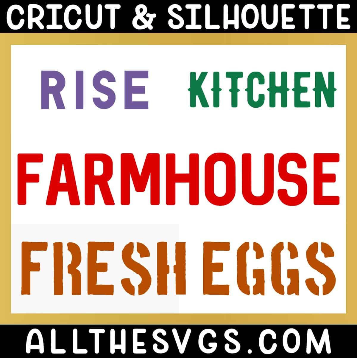 free farmhouse sign lettering fonts.